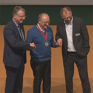Gerhard Oswald honored as HPI-Fellow