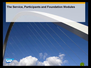 2.6 The Service, Participants and Foundation Modules