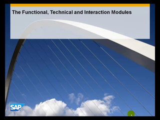 2.4 The Functional, Technical and Interaction Modules
